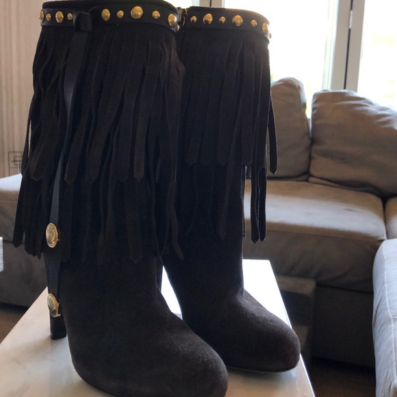 Gucci Shoes - Gucci fringed boots